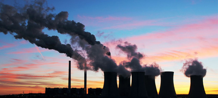 天空污染动漫素材