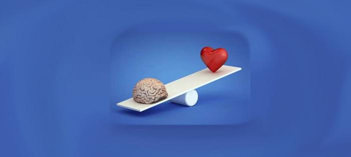 """用""""心""""还是用 """"脑"""" ? 自我定位会影响决策"""